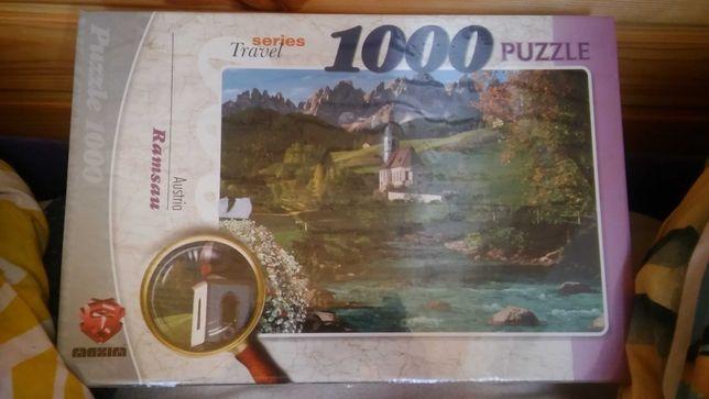 Puzzle 1000 series travel Austria