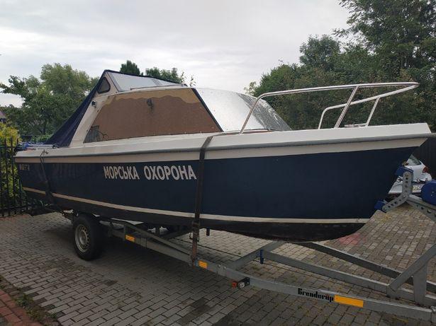 ONEDIN 650 Jacht Łódź Kabinowa Motorowa Wędkarska + silnik + przyczepa