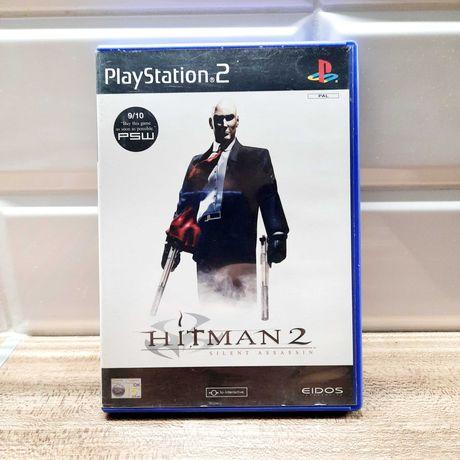 Gra Hitman 2 Silent Assassin na PlayStation 2