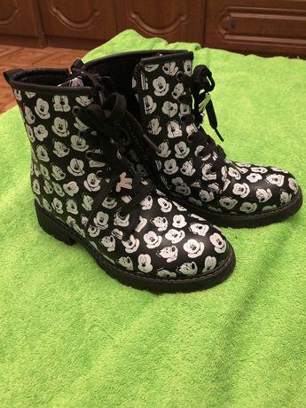 Ботинки на девочку демисезонные