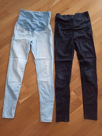 Spodnie ciążowe legginsy h&m mama 36 S jeansy skinny leginsy