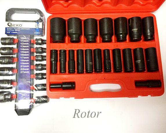 Набор ударных головок Verke 20 шт головки торцевые GEKO 10-27 мм 13 шт