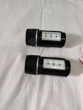 Продам маленькие ручные фонари  б/у не работают