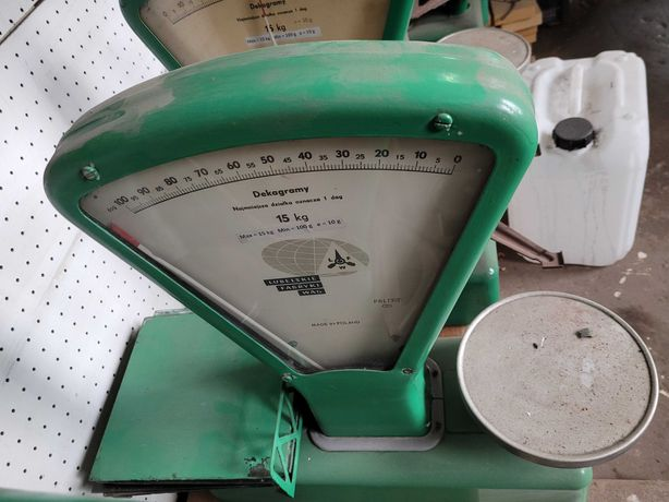 Waga sklepowa szalkowa do 15 kg