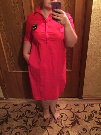 Платье рубашка оверсайз Sasha Ferrano можно для беременных