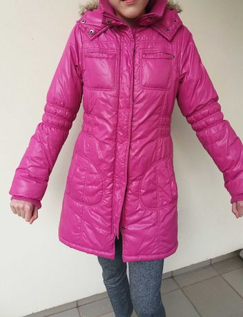 Kurtka zimowa dziewczęca,  super jakość 164cm