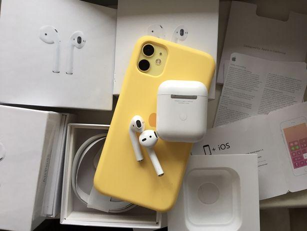 Наушники Apple Airpods 2 беспроводная зарядка