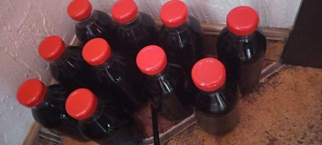 Domowy sok z czarnego bzu 330ml
