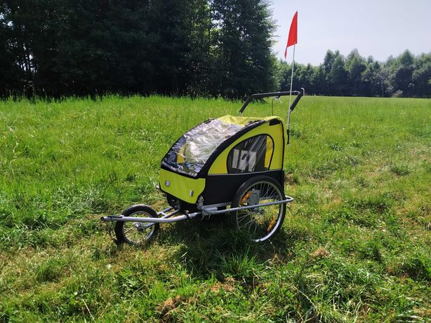 Przyczepka rowerowa dla dzieci, wózek, jogger