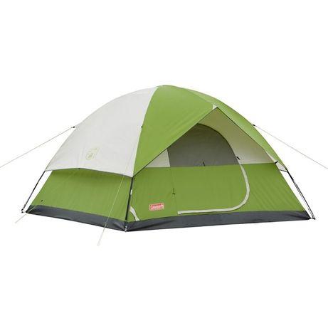 Палатка СOLEMAN Sundome 4мест.Американское качество.Цвет салатовыйвый