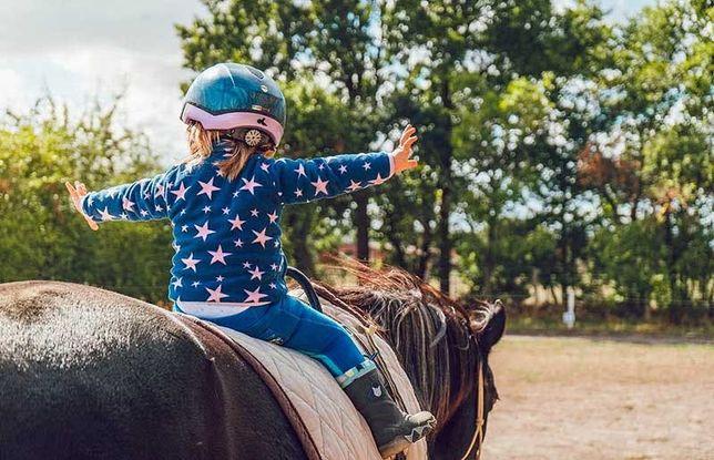Иппотерапия, развивающая и коррекционная верховая езда.