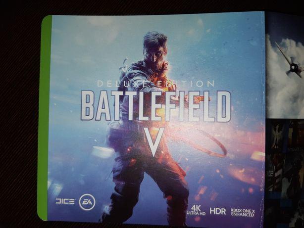 Gra battefield V na Xbox one