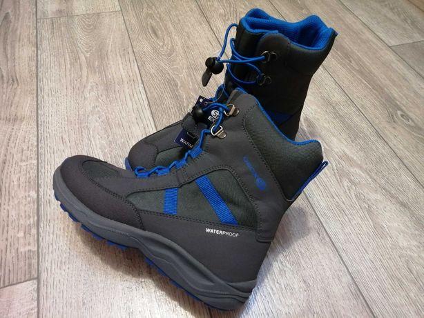 Мембранные термо ботинки Geox, р. 35, 23 см, зимние ботинки, оригинал!