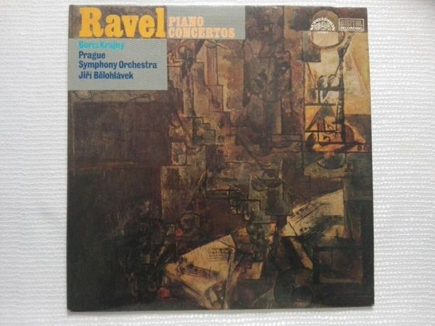 LP/ Ravel - Piano Concertos Jiri Belohlavek