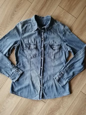Koszula damska jeans KappAhl