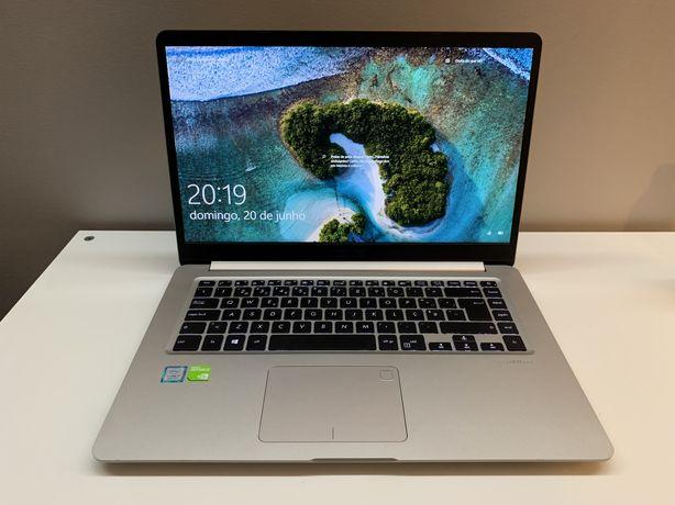Asus VivoBook S15 - i7 8.ª geração | 8GB RAM | GeForce MX150