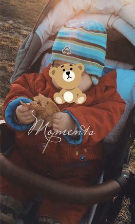 Детский комбинезон + куртка дитячий комбінезон і куртка