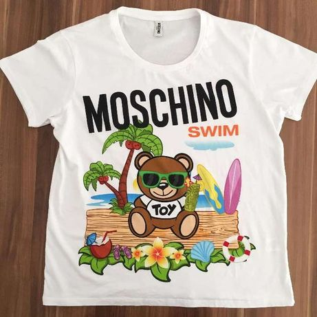 T-Shirt Homem - Moschino Swim, Tamanho L
