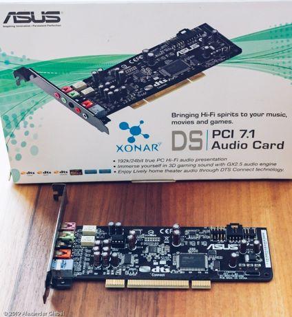 PCI Soundcard ASUS Xonar DS 7.1