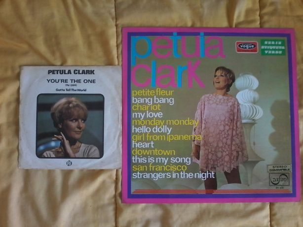 Petula Clark strangers in night, girl from Ipanema, hello dolly vinil