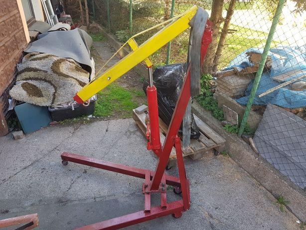 Podnośnik warsztatowy hydrauliczny żuraw 1.9m
