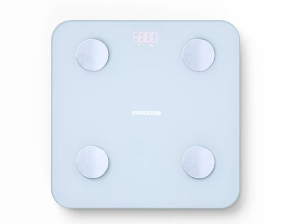 Balança sensivit, usada uma vez! Pesa massa gorda, IMC, água..