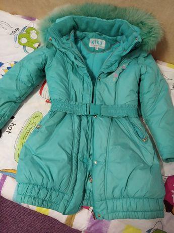 Детское пальто kiko 128р