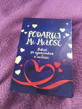 Podaruj mi miłość. Pakiet 24 miłosnych opowiadań.