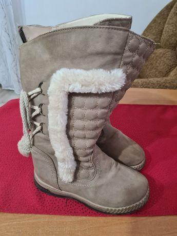 Buty zimowe dla dziewczynki rozmiar 32
