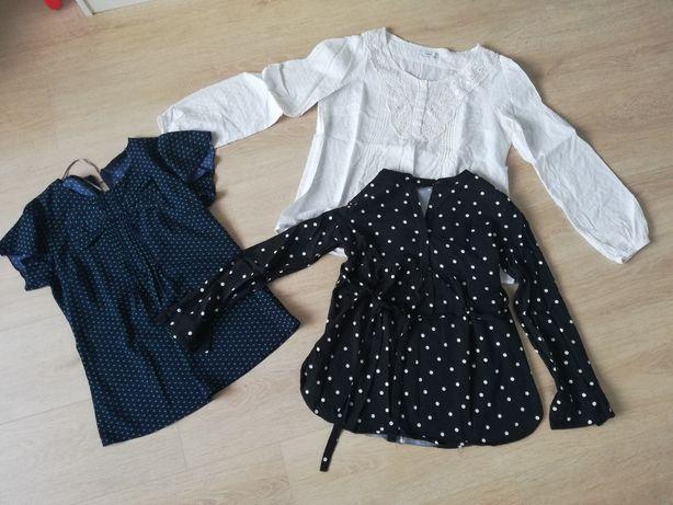 Bluzki ciążowe, spodnie, sukienki 36/38 S/M