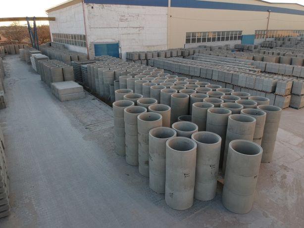 Кольца ЖБИ, Кольца бетонные (355-3096 кг)