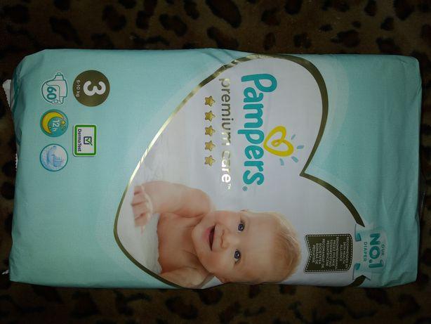 Памперсы PAMPERS Premium Care 3 (6-10 кг.)