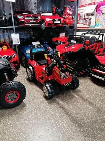 Traktor Koparka z łyżką na akumulator dla Dzieci pilot PROMOCJA!