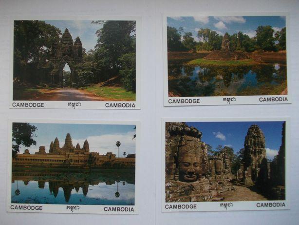 Почтовые открытки Камбоджа, 10 шт., набор 2