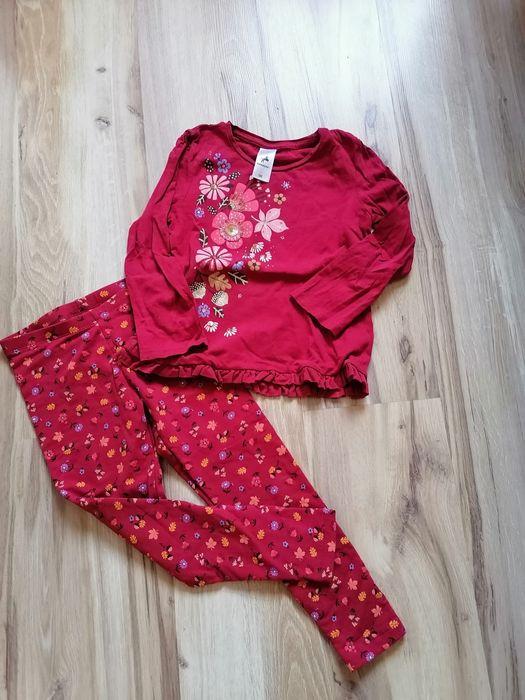 Bluzka legginsy komplet 116/122 Jastrzębie-Zdrój - image 1