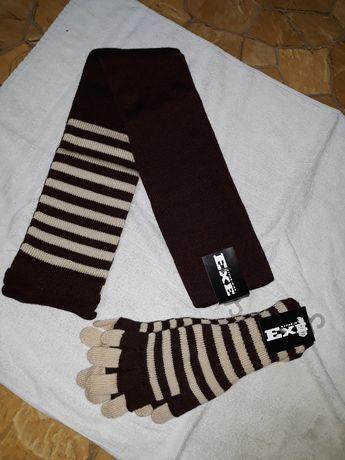 Kpl szalik +rękawiczki