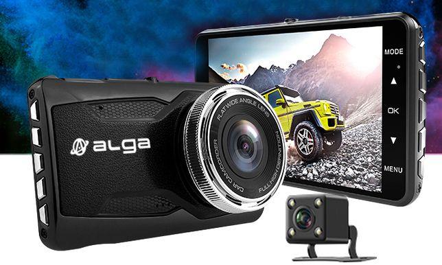 Rejestrator jazdy ALGA T700 AV IN + kamera cofania