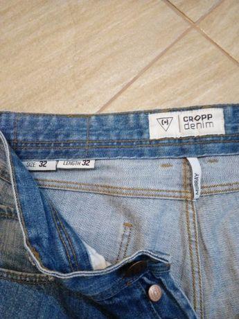 Spodnie jeansy CROPP 32
