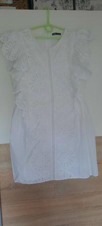 Sukienka ażurowa Zara XL