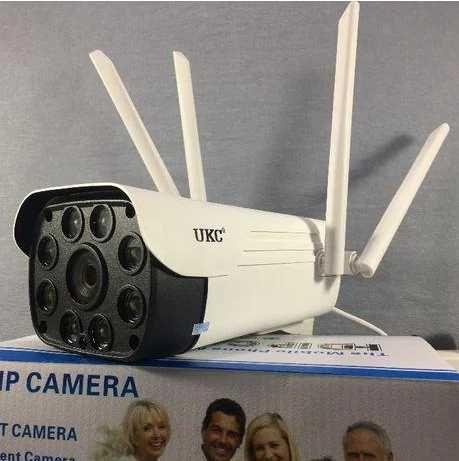 Камера видеонаблюдения wifi IP 2.0mp уличная full hd