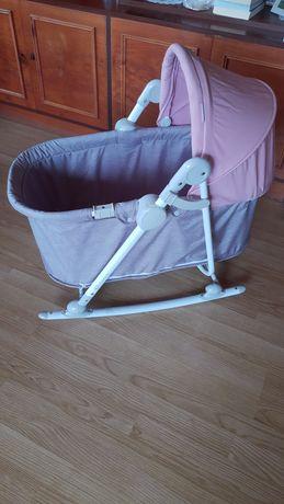 Kinderkraft unimo 5w1 bujaczek łóżeczko krzesełko