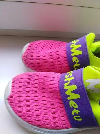 Дышащие кроссовки балетки кеды мокасины 30 р по стельке 18-18.5 см. Со