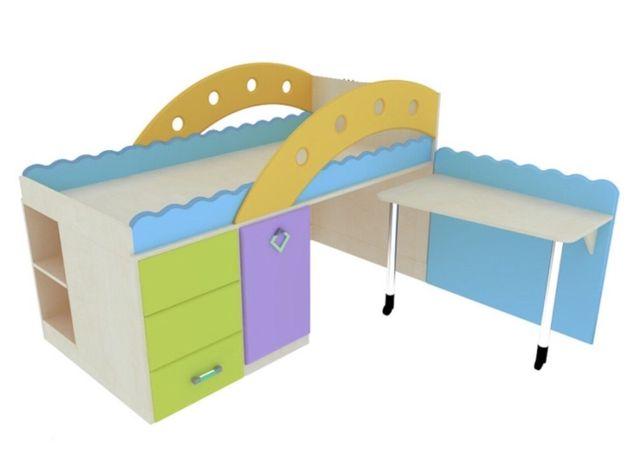 Кровать Снайт (Snite) чердак, детская