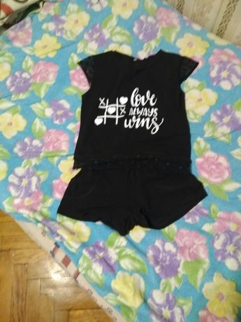 Костюм летний детский для девочки