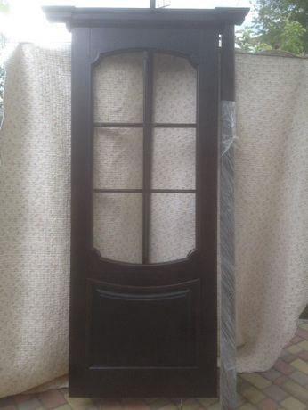 Двери из натурального дерева (ясень)