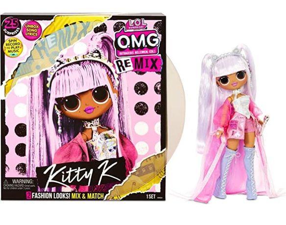 Кукла лол большая ремикс Королева Китти O. M. G. Remix Kitty K Оригина