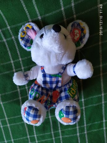 Мягкая игрушка «Белая Крыса»