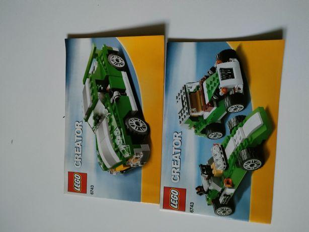 LEGO Instrukcje Z Zestawu 6743