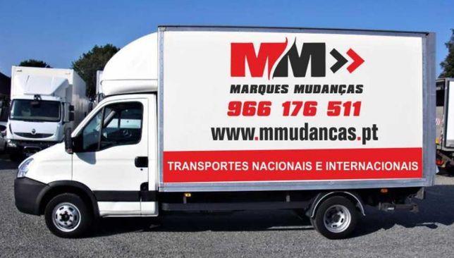 Mudanças e armazenamentos, Almada, Lisboa, Algarve, Alentejo e Norte