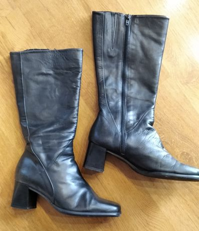 Сапоги чоботи чобітки сапожки кожаные шкіряні